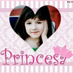 Fotomontaje de Princesa