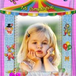 Fotomontaje de cumpleaños de niñas