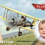 Fotomontaje con Leadbottom de Aviones Cars