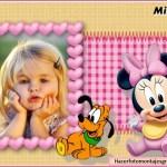 Fotomontaje infantil de Minnie Baby