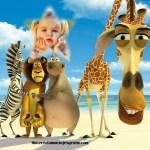 Fotomontaje de Madagascar gratis