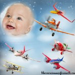 Fotomontaje de Aviones de Disney