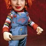 Divertido fotomontaje de Chucky