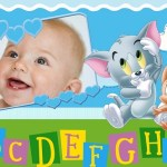 Fotomontaje de Tom & Jerry bebés