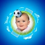 Fotomontaje para Mundial de Fútbol