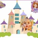 Fotomontaje del castillo de Princesa Sofía