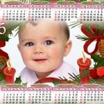 Fotomontaje de Calendario 2015 navideño
