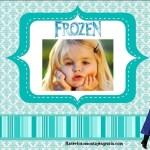 Fotomontaje de Frozen con Olaf y Anna
