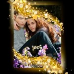Fotomontaje gratis con estrellas doradas