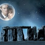 Fotomontaje de noche romántica con la luna
