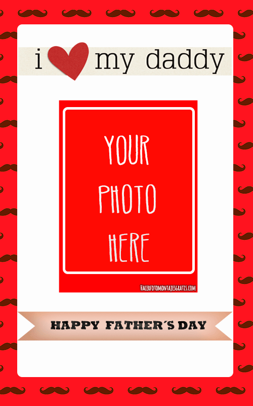 Happy Father s day Photo frames