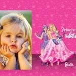 Fotomontaje de Barbie The Princess & The Popstar