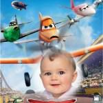Fotomontaje de Aviones de Cars