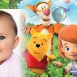 Montaje de fotos con Pooh y Tiger