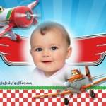 Fotomontaje de Aviones Disney