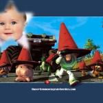 Hacer fotomontaje de Toy Story