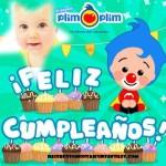 Fotomontaje de Cumpleaños con Plim Plim