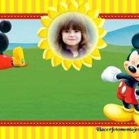 Fotomontaje de Mickey Club House