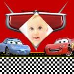 Fotomontaje con Sally y Rayo McQueen de Cars