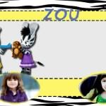 Fotomontaje de Zou y Elzee para dos fotos