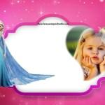 Fotomontaje de Elsa Frozen