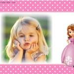 Fotomontaje infantil de Princesita Sofía