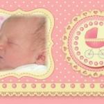 Fotomontaje de Baby Shower y Nacimiento niñas
