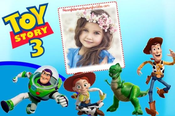 toy story fotomontajes - toy story marcos infantiles - toy story photo frame