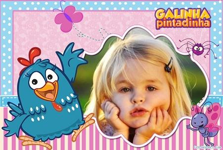 Gallina pintadita fotomontajes