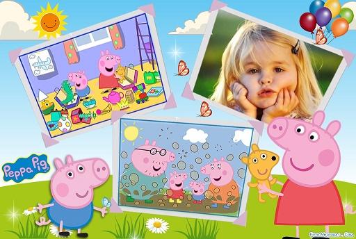 Fotomontajes de Peppa Pig