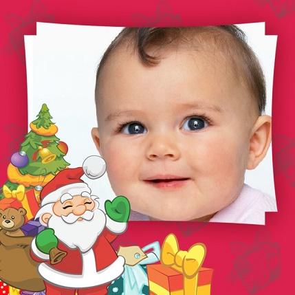 Fotomontaje Infantil Papa noel - Fotomontaje Infantil Santa Claus