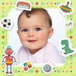 Fotomontaje gratis para fotos de bebes