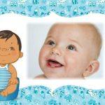 Fotomontaje de Baby Shower o Nacimiento varones