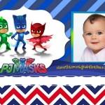Fotomontaje de Héroes en Pijamas – Marco de PjMasks