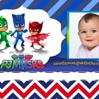 Fotomontaje de Héroes en Pijamas - Marco de PjMasks