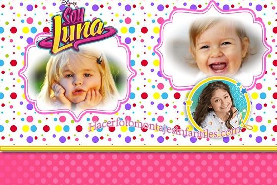 Editar Fotos Soy Luna Fotomontajes Infantiles