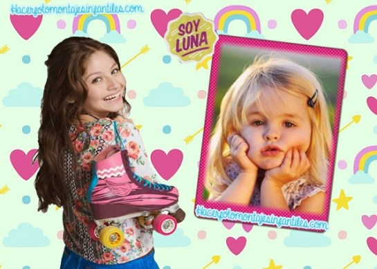 Photo frames soy luna
