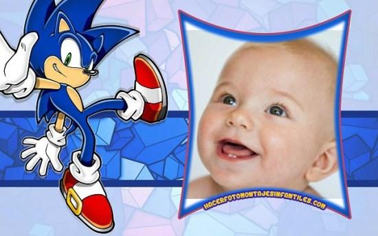 Sonic photo frames