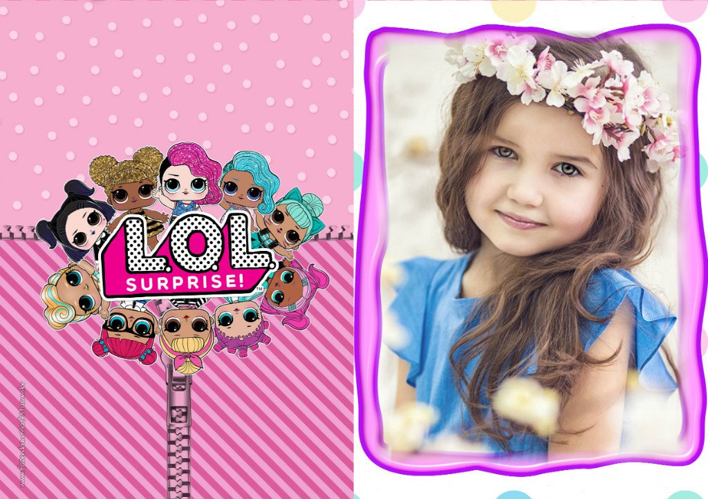 Fotomontaje De Lol Surprise Para Fotos Fotomontajes Infantiles