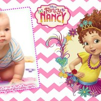 Fancy Nancy Marcos para editar Fotos