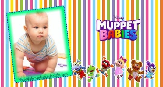 muppet babies efectos para fotos