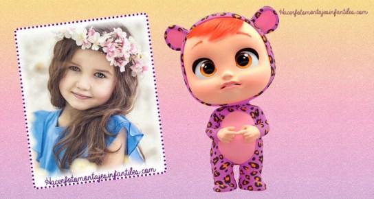 Editar fotos con Bebes Llorones marcos infantiles