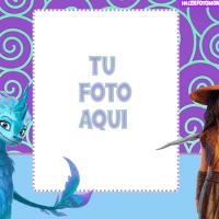 Fotomontajes Raya y el Dragon