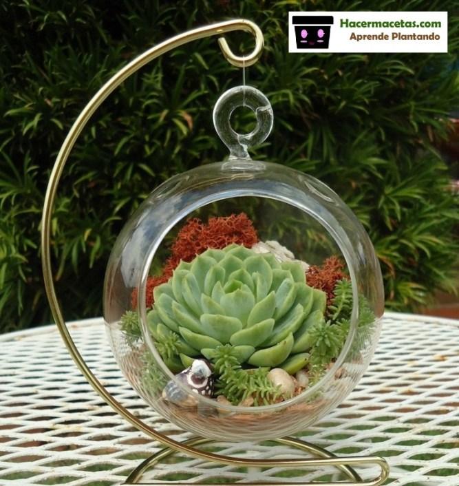 Materios de vidrio en el Jardin