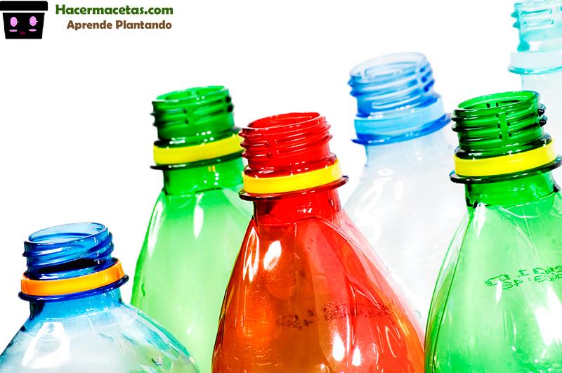 Botellas De Plástico Para Macetas
