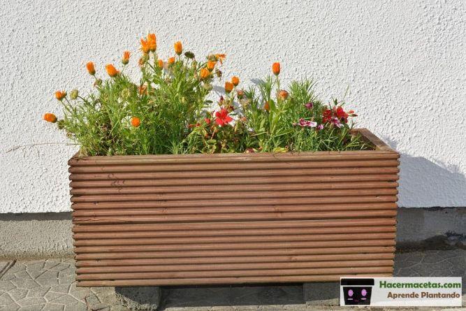 macetas jardineras de madera