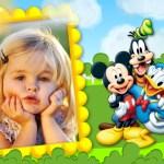 Marco de Mickey, Donald y Goofy
