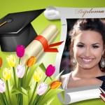 Marco de graduación