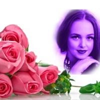 Marco con rosas para Mamá en su día