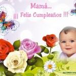 Marco de Feliz Cumpleaños para Mamá